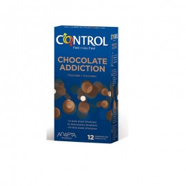 CONTROL SEX SENSES CHOCOLATE 12 CONDOMS