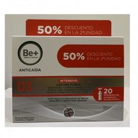 be+ loción anticaida monodosis pack oferta
