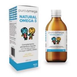 Puro omega 3 natural niños 200 ml