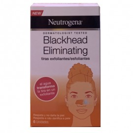 Neutrogena Blackhead Eliminating tiras exfoliantes