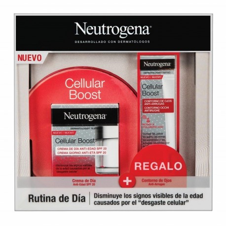 Neutrogena Cellular Boost pack crema de dia + contorno