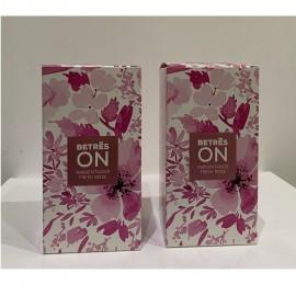 Ambientador flor rosa 2 unidades 90 ml