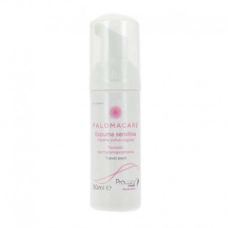 Palomacare espuma sensitiva vaginal 150 ml
