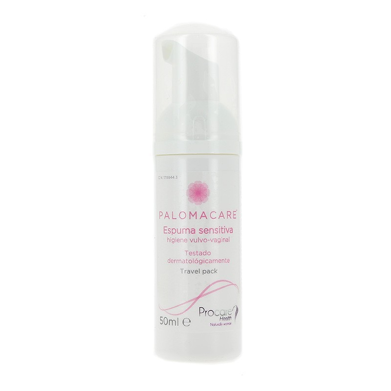 Palomacare espuma sensitiva vaginal 150 ml