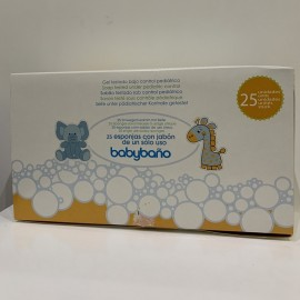 baby baño esponjas jabonosas de jalsosa Caja 24 unidades