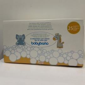 baby baño esponjas jabonosas de jalsosa Caja 25 unidades