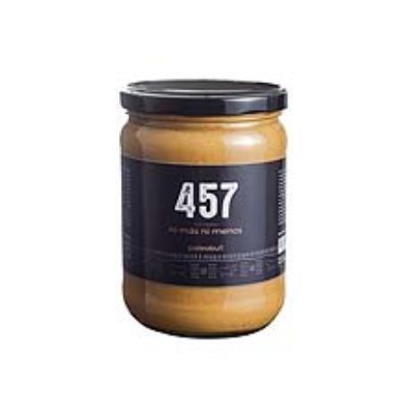 457 crema de cacahuete 500gr.