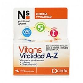 Cinfa Nature System Vitans Vitalidad A-Z, 30comprimidos