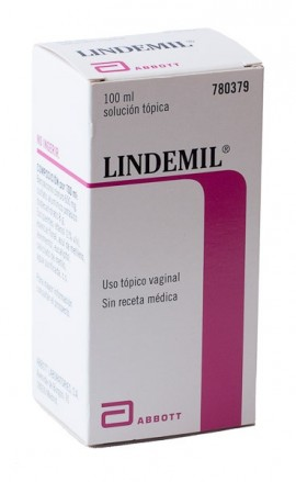 LINDEMIL SOLUCION 100 ml