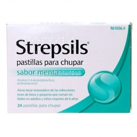 STREPSILS MENTA 24...