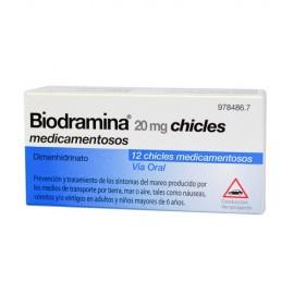 BIODRAMINA CHICLE X12