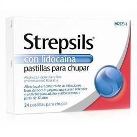 STREPSILS CON LIDOCAINA 24...