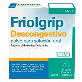 FRIOLGRIP DESCONGESTIVO 10...