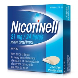 NICOTINELL 21 MG 14 PARCHES