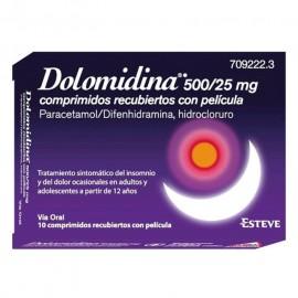 DOLOMIDINA 500/25 MG 10...