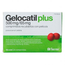 GELOCATIL PLUS 500/65 mg 20...