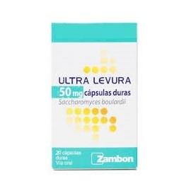 ULTRA LEVURA 50 mg 20 Capsulas