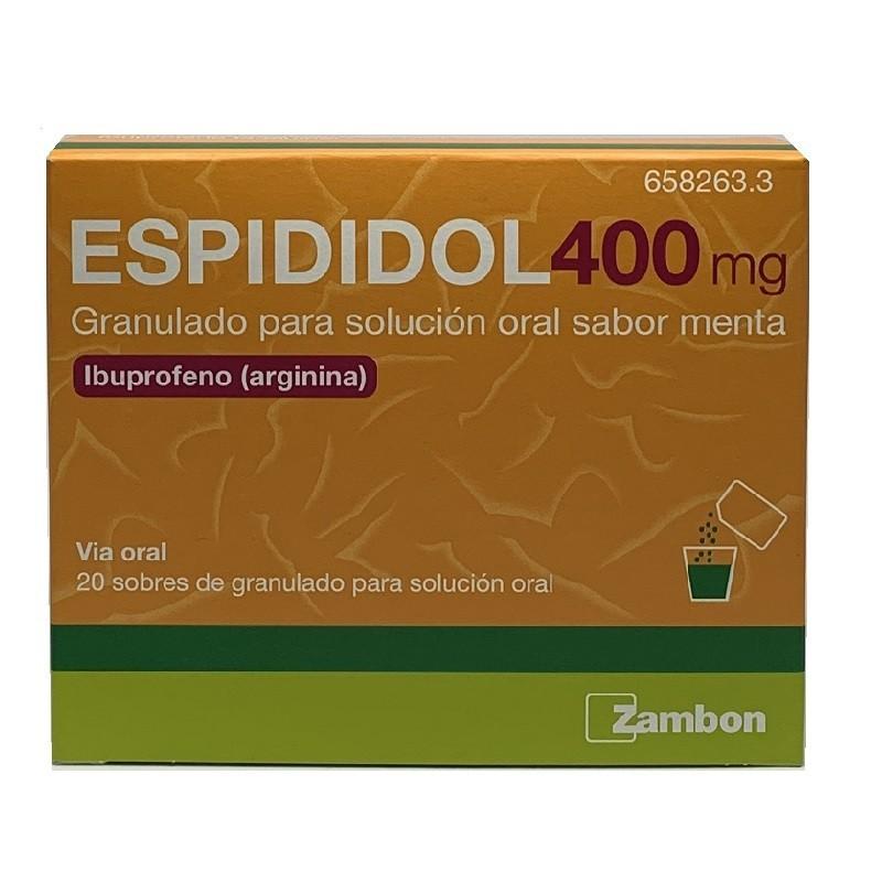ESPIDIDOL 400 SOBRES (ESPIDIFEN SIN RECETA)