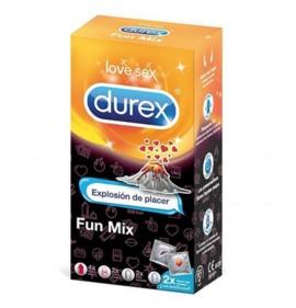 DUREX Preservativos FUN MIX...