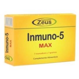 ZEUS INMUNO-5 MAX 7sbrs.