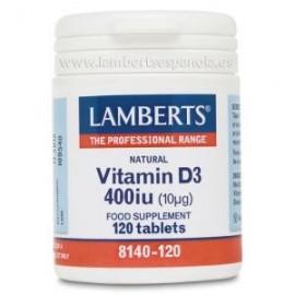 LAMBERTS VITAMINA D3 400ui...
