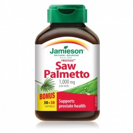 JAMIESON Saw Palmetto 125mg...