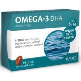 ELADIET OMEGA 3 DHA 60perlas