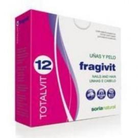 SORIA NATURAL TOTALVIT 12 FRAGIVIT uñas y pelo 28comp.