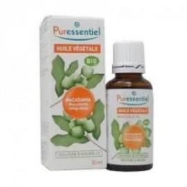 PURESSENTIEL MACADAMIA aceite vegetal BIO 30ml.