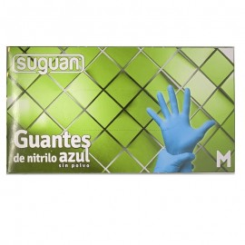 Guantes de Nitrilo Azul...