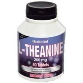 HealthAid L-TEANINA 200mg. 60comp.