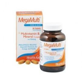 HealthAid MEGAMULTI con GINSENG 30comp.