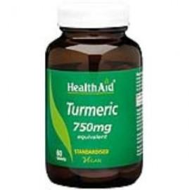 HealthAid CURCUMA raiz (turmeric) 60comp.