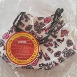 MASCARILLA Higiénica textil...