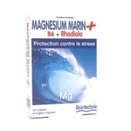 BIOVER MAGNESIO MARINO+B6+rhodiola 30cap. BIOTECHNIE