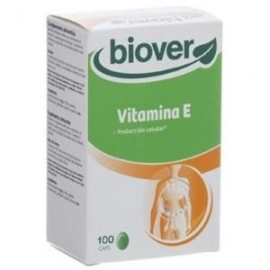 BIOVER VITAMINA E natural 45 IE 100cap.blandas