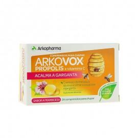 ARKOPHARMA ARKOVOX Própolis + Vitamina C sabor frambuesa 24 comprimidos