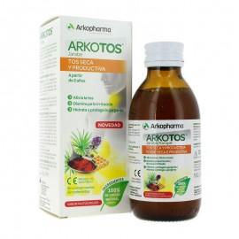 ARKOPHARMA ARKOTOS Jarabe para la tos seca y productiva frutos rojos 140 ml
