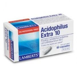 LAMBERTS ACIDOFILUS extra 10 (REFRIGERACION) 60cap.