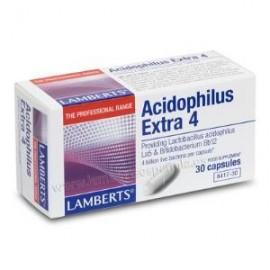 LAMBERTS ACIDOFILUS EXTRA 4 S/LECHE 30 cap. (REFRIGERACION)