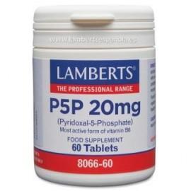 LAMBERTS P5P 20mg. piridoxal-5-fosfato 60comp.