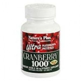 NATURES PLUS ULTRA CRANBERRY 1000mg. 60 comp.