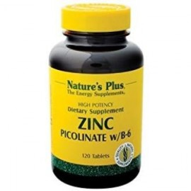 NATURES PLUS ZINC DI-PICOLINATE 120comp.