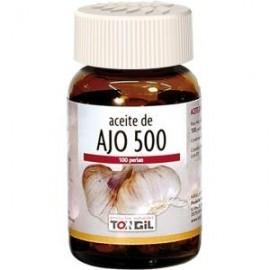 TONGIL ACEITE DE AJO-500 100perlas