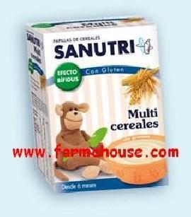 SANUTRI MULTICEREALES BIF 600 GR