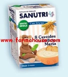 MARY GALL SANUTRI BIF 8 CEREAL 600 GR