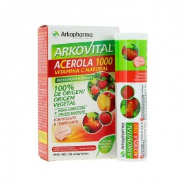 ARKOVITAL ACEROLA 1000 VITAMINA C NATURAL 30 COMPR