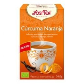 YOGI TEA CURCUMA NARANJA de YOGI TEA, 17infusiones