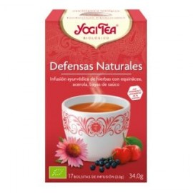 YOGI TEA DEFENSAS NATURALES de YOGI TEA, 17infusiones