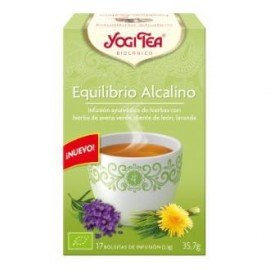 YOGI TEA EQUILIBRIO ALCALINO de YOGI TEA, 17infusiones
